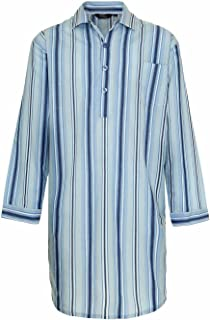 Champion Men's Westminster Polycotton Summer Striped Nightshirt 3175