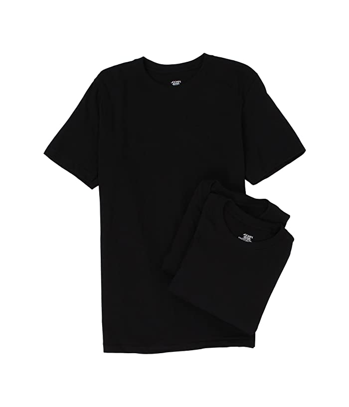 44905419 Jockey Cotton Crew Neck T-Shirt 3-Pack at Zappos.com