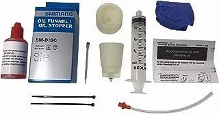 Shimano Bleed Kit with 60ml Shimano Mineral Oil and Caliper Bleeding Capabilities