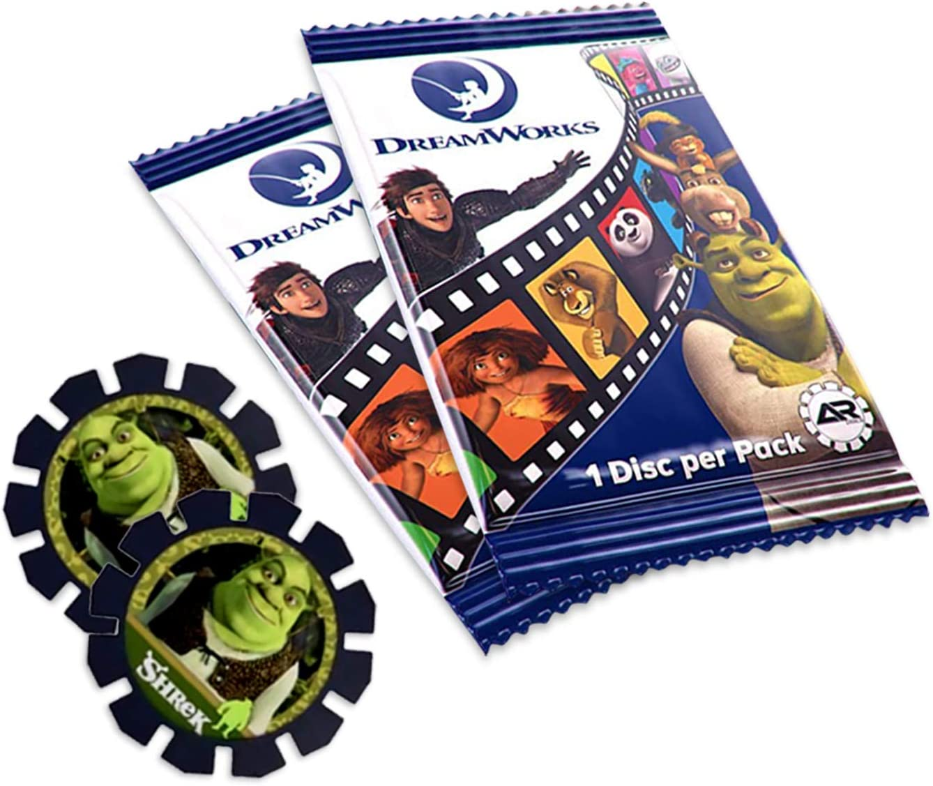 AR Discs Augmented Reality Collectible (3 Pack) – Mini Collectible...