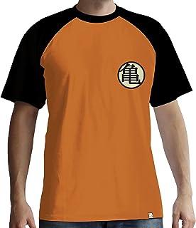 Dragon Ball Z - Kame Symbol Camiseta Naranja/Negro