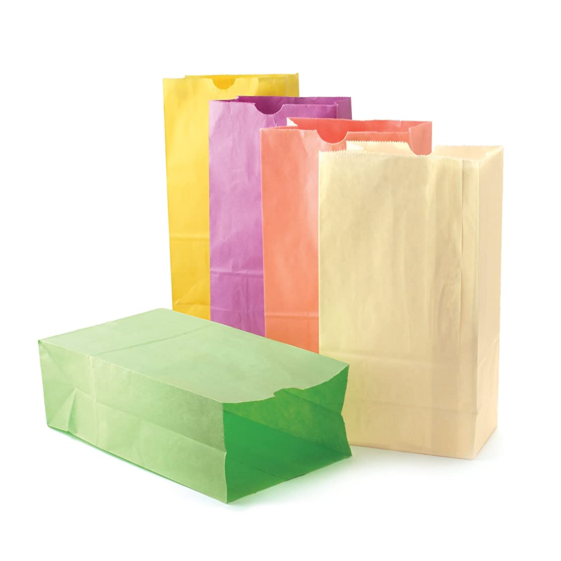 Hygloss Products HYG66289 Pastel Assorted Bags, 0.5