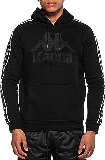 Kappa Men's Hurtado 222 Banda Slim Fit Hoodie, Black