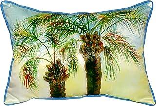 """Betsy Drake SN385 Betsy's Palms Pillow, 11"""" x14"""""""