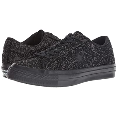 Converse One Star After Party (Black/Black/Black) Lace up casual Shoes