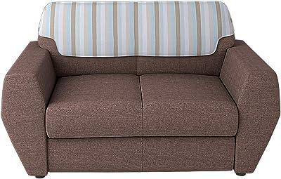 Godrej Interio Facet Two Seater Sofa (Brown, Matte Finish)