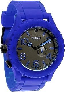 Nixon Men's A236-306 Simplify Blue/Black Rubber Watch