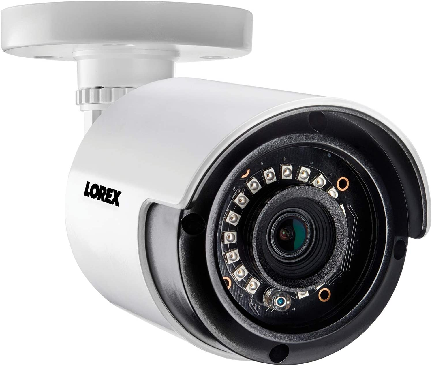 Lorex LORLAB223T 1080p Full Hd Analog Indoor/Outdoor Bullet Security Camera, White