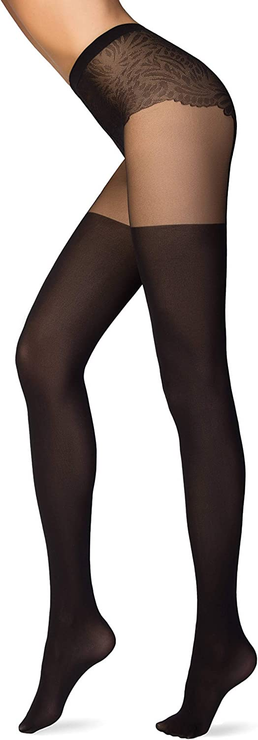 Conte Fantasy Design French Cut Lace Top Pantyhose Tights Emotion