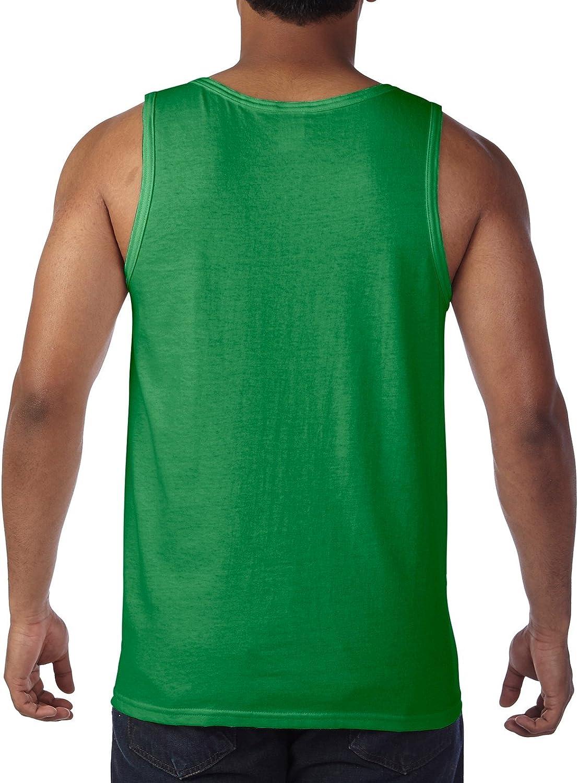 Fashion Gildan 5200 Heavy Adult Tank Top at  Men's Clothing store