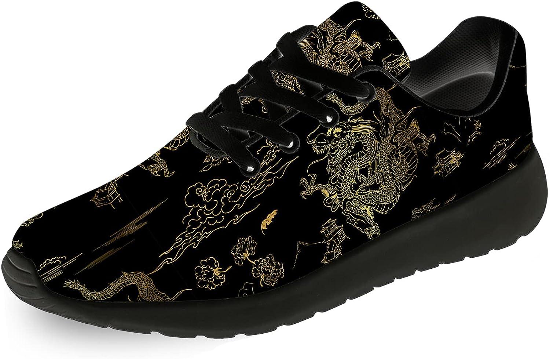 Fort Worth Mall Dragon Shoes Womens Mens Running Sneakers Walking Tennis Alternative dealer C
