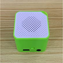 guizhoujiufu Radio Speaker Home Speakers Portable Mini MP3 Player Support Card MP3 Music Player Built-in Speaker (Color : ... photo