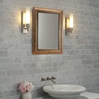 Gold Framed Wall Mounted Mirror Modern Design with Nice Border and Pattern