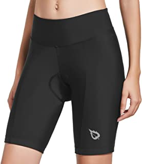 BALEAF Womens Bike Shorts with 3D Gel Padded Wide Waistband UPF 50+ for Cycling