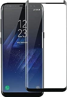 Yo-fobu Samsung Galaxy S9 Screen Protector Edge-To-Edge Full Screen Cover Anti-Scratch Anti-Shock Bubble Free Anti-fingerprint High Definition Tempered Glass Screen Protector for Samsung Galaxy S9