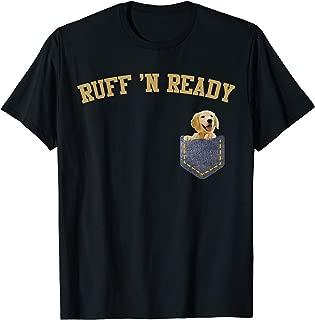 Ruff 'N Ready Pocket Golden Labrador Shirt