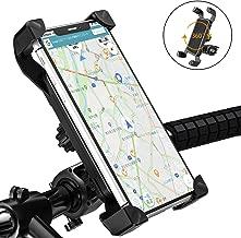 自転車スマホホルダー オートバイ バイク GPSナビ 携帯 固定用 スマホホルダー 360度回転 伸縮アーム 多重ロック 落下防止 振れ止め 自転車ホルダー 携帯ホルダー 3.5-6.5インチ Android/iPhone多機種スマホ対応 取り付け簡単 携帯ほるだー