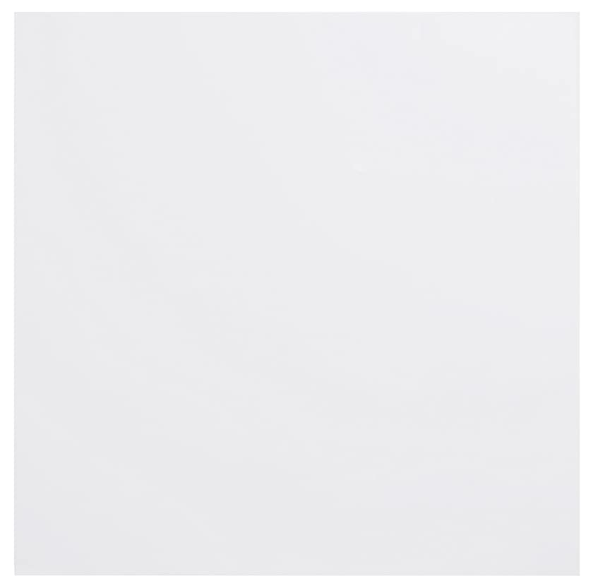 American Crafts Bazzill Basics Plastic Embossing Paper 12 x 12 Inch Snowball
