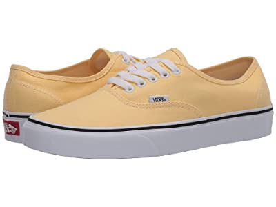 Vans Authentictm (Golden Haze/True White) Skate Shoes