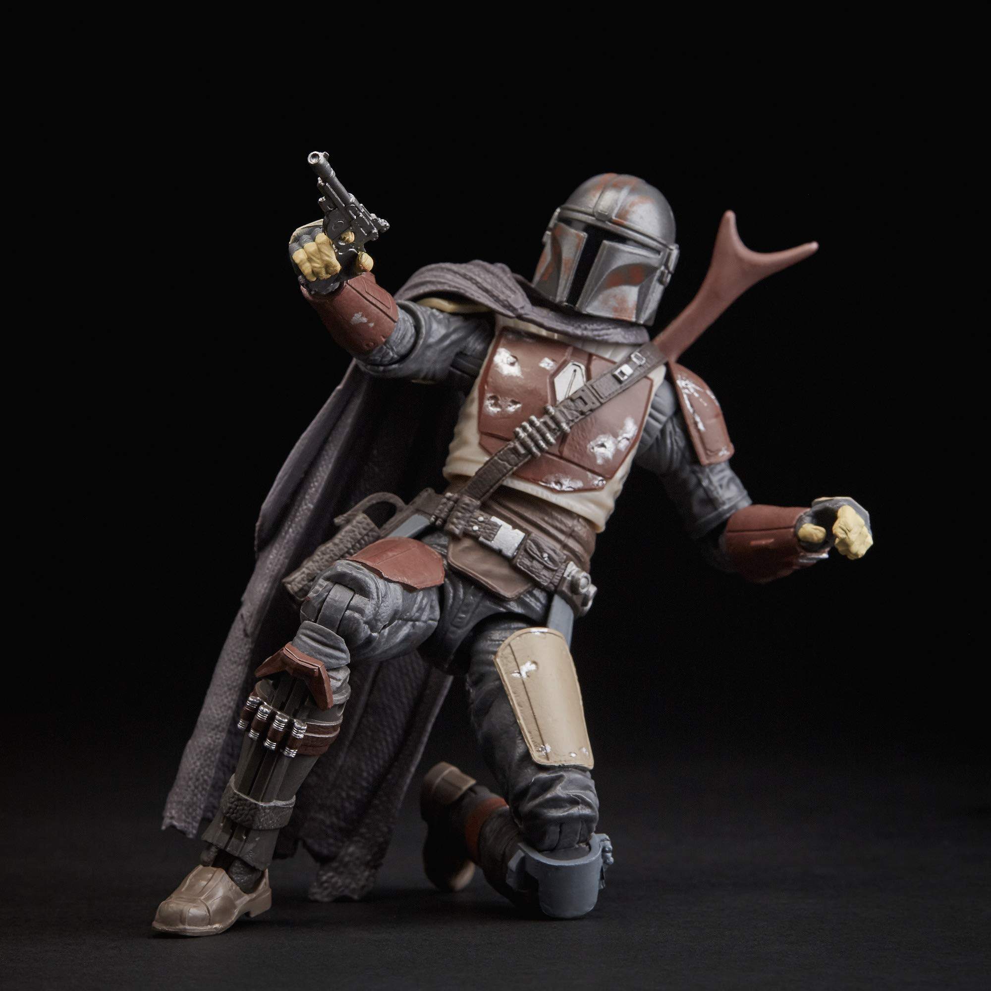 """Star Wars The Black Series The Mandalorian Toy 6"""" Scale Collectible Action Figure, Toys for Kids Ages 4 & Up"""