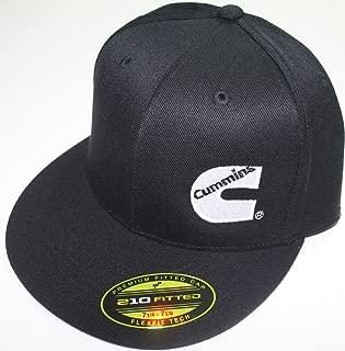Cummins Hat Ball Cap Fitted Flex Fit Flat Bill Flexfit Stretch Cummings Ram L/xl