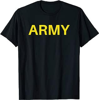 Army APFU Logo PT - Workout Physical Training Uniform T-Shirt