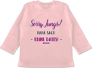 EZYshirt/® Sorry Jungs Keine Dates Niemals T-Shirt Langarm Baby Bio Baumwolle