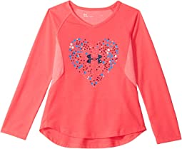 Under Armour Kids - Astro Dot Heart Long Sleeve (Toddler)