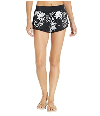 Roxy Swell Addict Boardshorts (True Black Full) Women