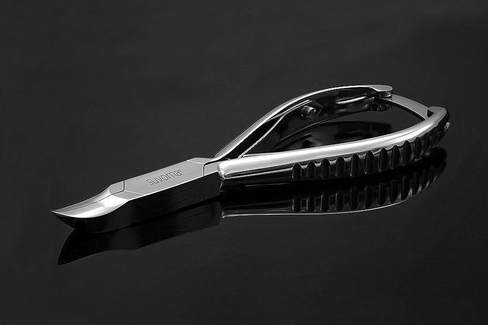 しわピーブただスヴォルナ プロ仕様 5.5インチ (14センチ) ペディキュア 分厚い足の爪 ニッパー 曲面顎 & バックロック 3109 (インポート)