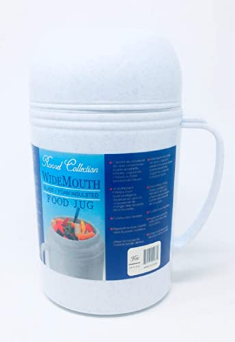 popular Vacuum Insulated Food Jug Flask Jar Wide Mouth outlet sale Thermos discount 20.29 Oz Hot/Cold .6-Ltr outlet online sale