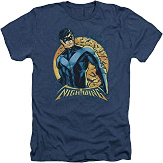 Trevco Men's Batman Classic Logo T-Shirt