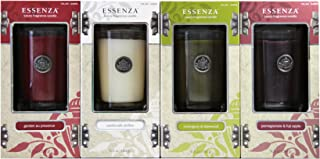 Essenza Luxury Fragrance Candles (4 Pack) - Perfect for Christmas!!!
