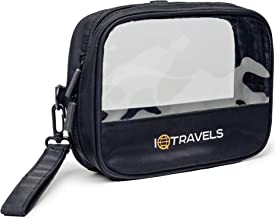 Tsa Approved Toiletry Bag - Clear Toiletry Bag - Quart Size Carry On Men's Clear Bag - 311 Plastic Liquid Zipper Bags - Clear Travel Toiletry Bag - Airport Makeup Cosmetic Liquids Sized Bag