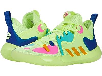 adidas Kids Harden Stepback 2 (Big Kid) (Yellow/Crew Yellow/Team Royal Blue) Kid
