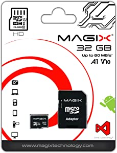 Micro Card 32GB MAGIX Series Class10 V10 Adapter 80MB s...