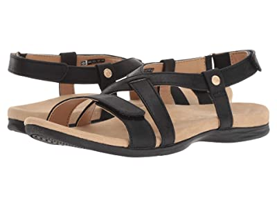 Spenco Cross Strap (Black) Women