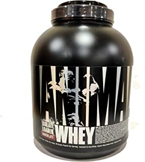 Universal Nutrition Animal Whey Isolate Loaded Whey Protein Powder Supplement, Chocolate, 4 Pound