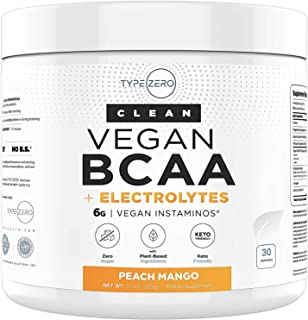 Ultra Clean BCAA Powder (Vegan BCAA | 6G | Sugar Free | Zero Artificial Sweeteners | Keto BCAA) - Best Tasting BCAA for Wo...