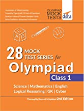 28 Mock Test Series for Olympiads Class 1 Science, Mathematics, English, Logical Reasoning, GK & Cyber