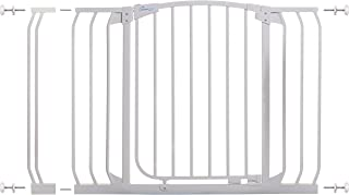 Dreambaby Chelsea 38-46 in Auto Close Security Gate w/Stay Open Feature- White