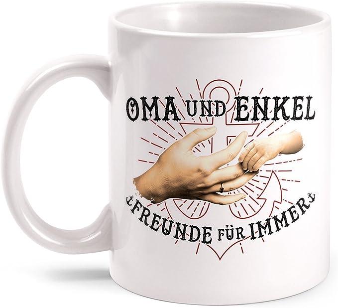 Kaffeebecher Tasse Unbezahlbar Oma sein Großmutter Enkel Familie Geburt