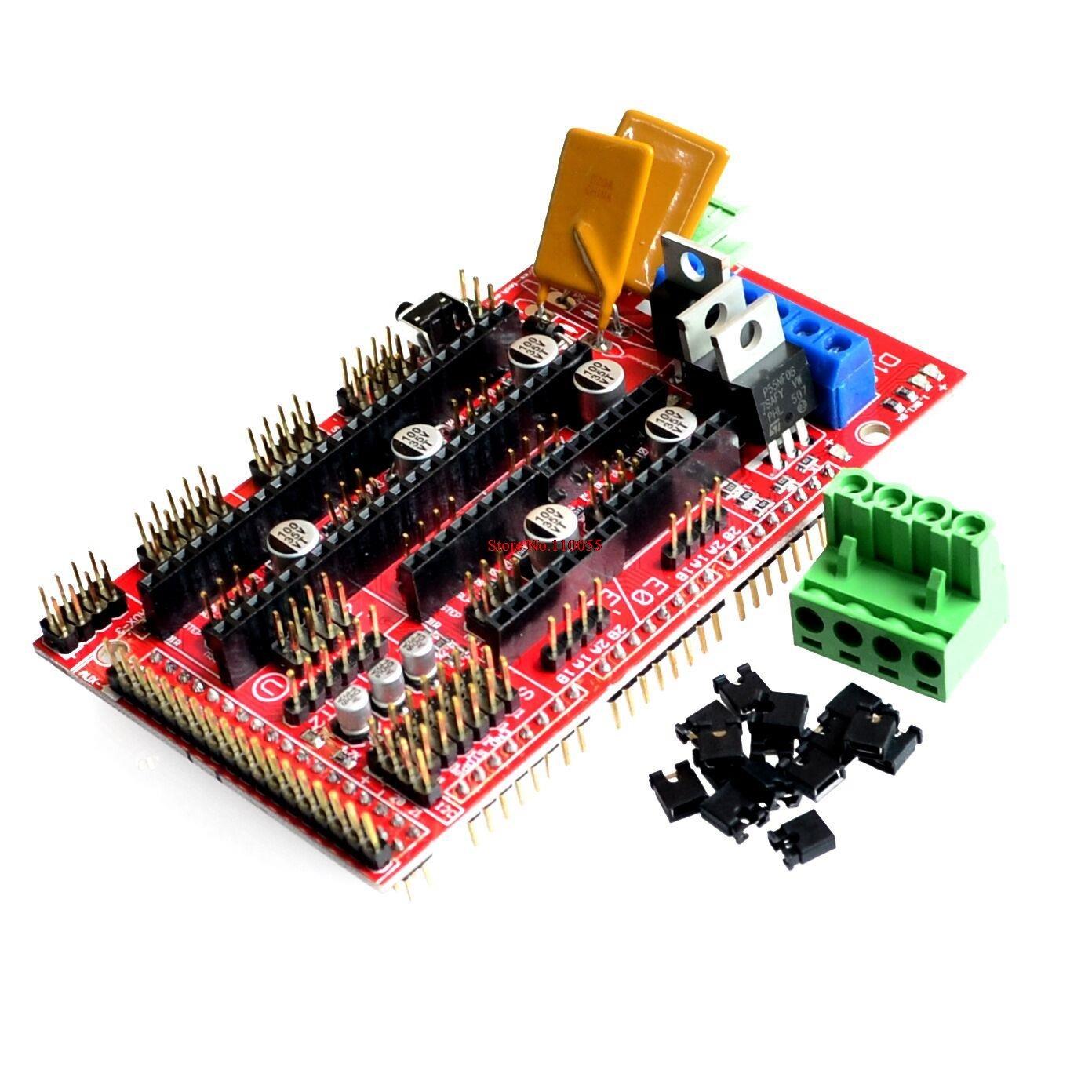 Nippon regular agency RAMPS Max 63% OFF 1.4 3D Printer Reprap Mendel Panel Control