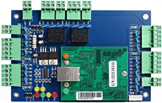 Professional 2 Doors IP Based Wiegand 26 bit 34Bit Network Access Control Board Panel Access Controller with Software