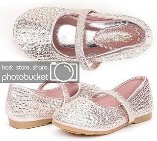 Girl's SERENA-100 Mary Jane Casual Slip on Ballerina Flat (Toddler)