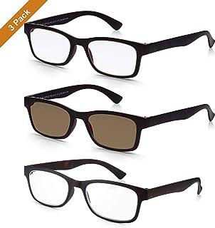 41cd564b6a Read Optics X3 PACK de Gafas de Sol para Lectura Graduadas +2.00 Dioptrías  con Lentes