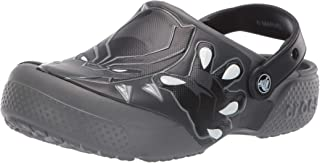 Crocs Kids' Boys and Girls Black Panther Clog