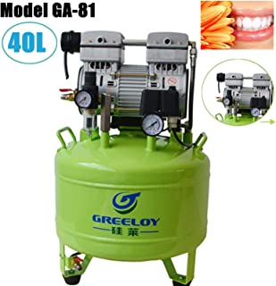 Aries Outlets Lab Noiseless Free Oilless Air Compressor Motors 155L/min One for Two Chair