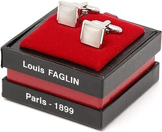 [シップス] SHIPS LOUIS FAGLIN: スクエア カフスリンクス 119530487 White2 Free