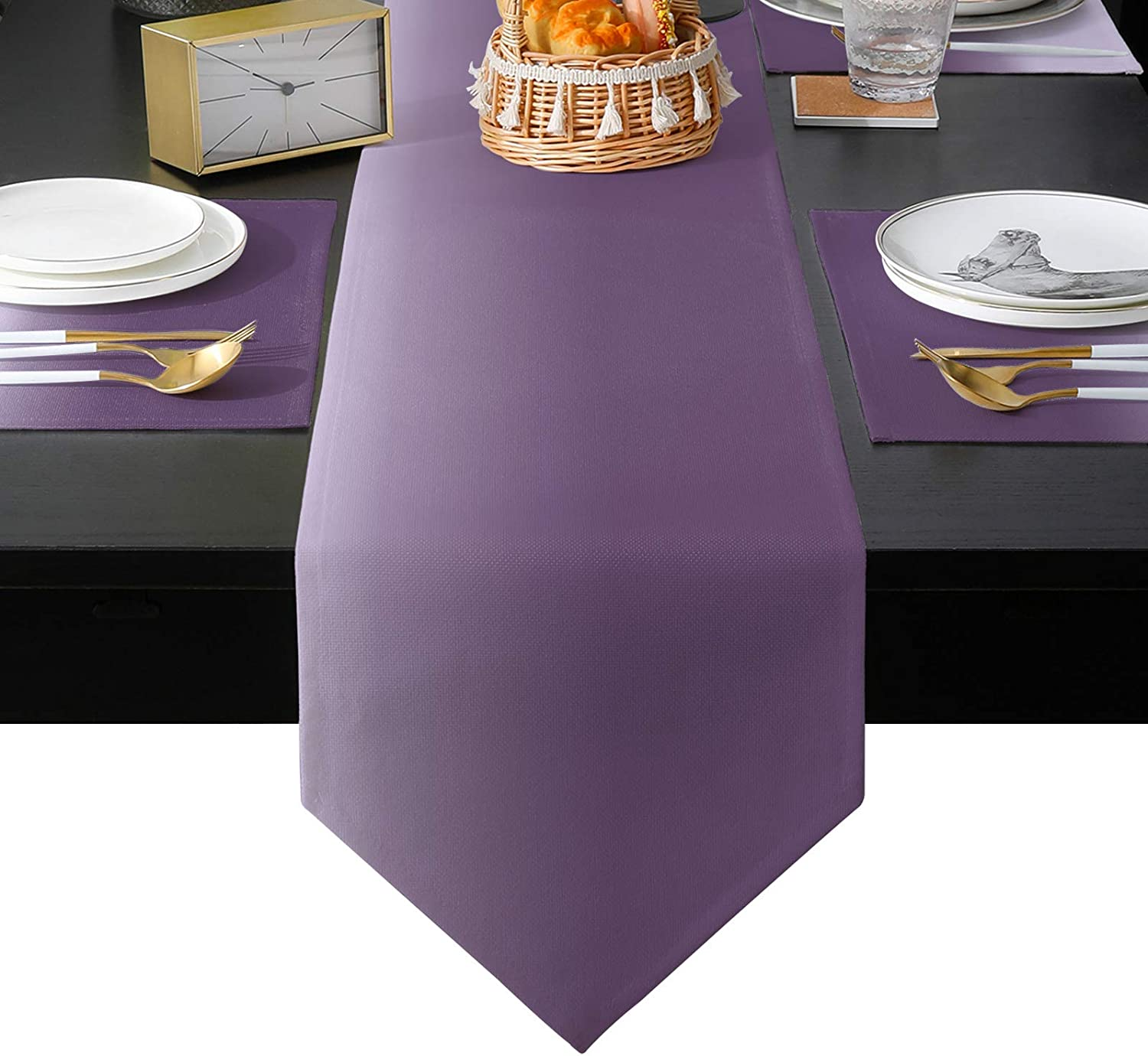 BABE MAPS Ombre Sale SALE% OFF Non-Slip Table Runner of for Direct store Placemats 6 Set and